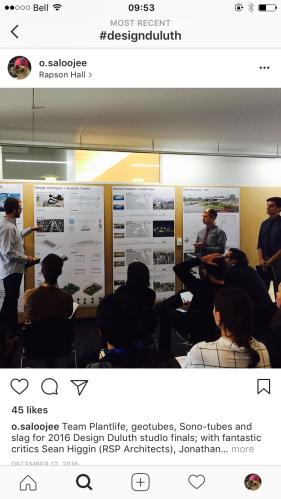Final student presentations