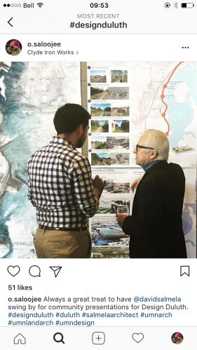 Public presentations in Duluth