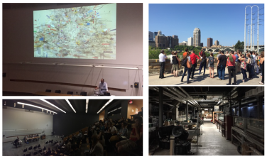 Symposium and field tours - which included the St. Anthony Falls Stream Lab as well as Dredging Machine manufacturers.